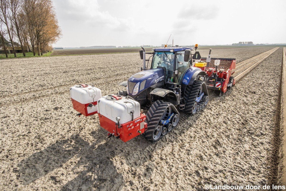 New Holland T7.270 & Miedema CP-42