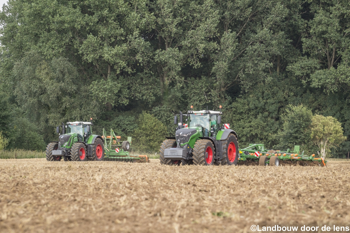 Fendt & Amazone demonstratie